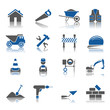 16 Icons Bauwesen