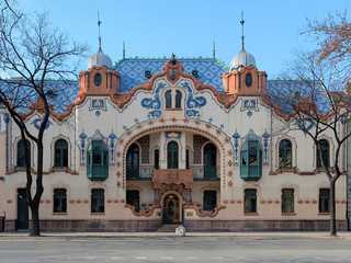 House of architect Ferenc Raichle in Subotica, Serbia