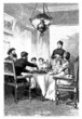 Middle class : Family Diner - 19th century