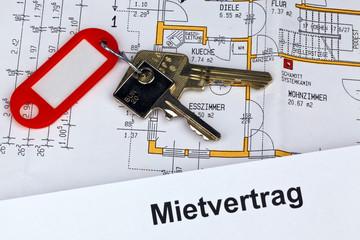 Mietvertrag in deutscher Sprache