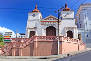 Old church Sala Dolores in Santiago de Cuba
