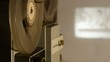 8 mm projector - film