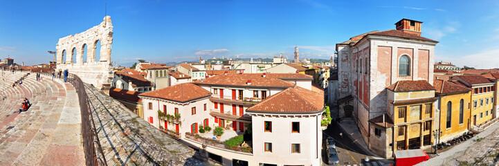 Panoramafoto Verona, Altstadt