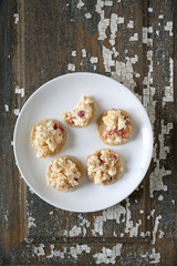 Pimento Cheese Spread on Crackers