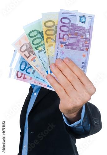 Ragazzo con euro