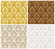 Damask Seamless Color Set