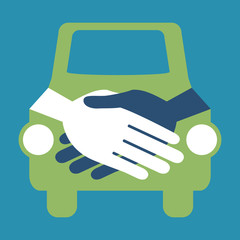 Car handshake design.