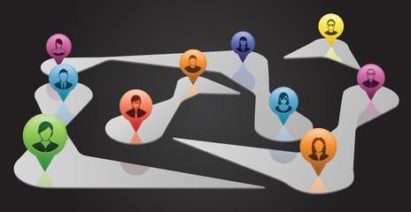 Virtual Social Network