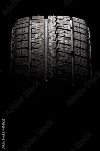 Modern winter performance tire.