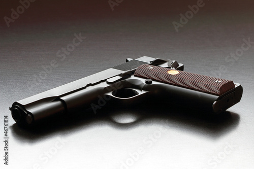 Legendary US .45 caliber handgun.