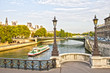 Paris and the Seine, France