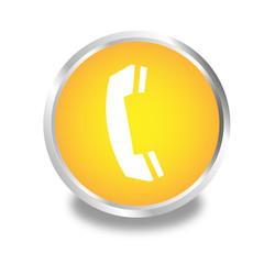 Vektor Telefon weiss