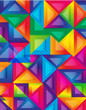colorful background, cover design