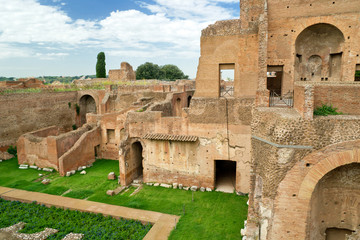 House of Augustus at the Palatine Hill in Rome, Italy