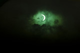 Solar eclipse over New Zealand