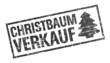 Stempel - Christbaumverkauf (II)