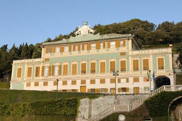 Genova voltri_villa duchessa di galliera