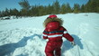 Winter childhood