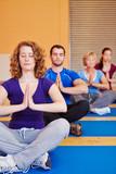 Yogakurs im Fitnesscenter