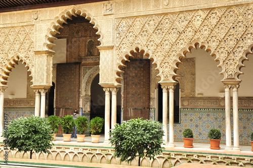 Sevilla real alcazar garten