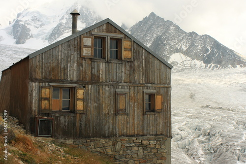 Albert Premier Hut in French Alps
