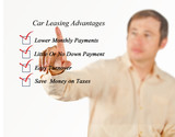 Car leasing advantages checklist