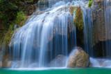 Fototapeta woda - świeży - Kaskada / Wodospad / Gejzer