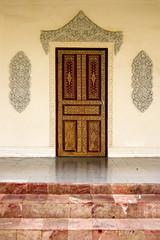 Palace door.