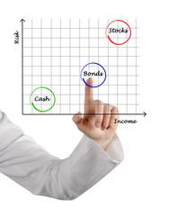 Diagram of investment