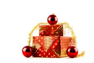 Christmas golden reddish