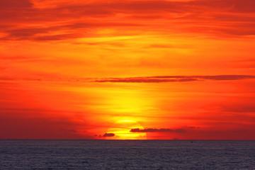 il tramonto visto da Palinuro