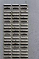 grille metal aeration