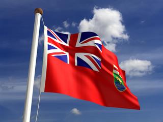 Manitoba flag Canada