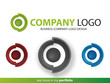 Company Logo Circle Design,Vector