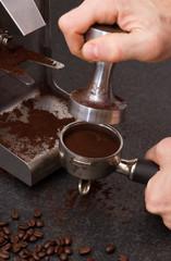 Espresso making