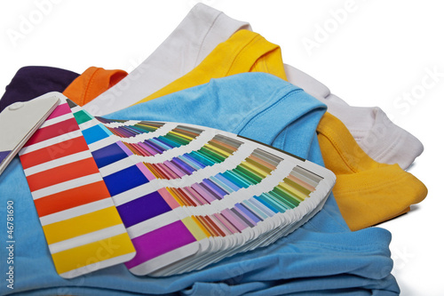 t shirts and chart