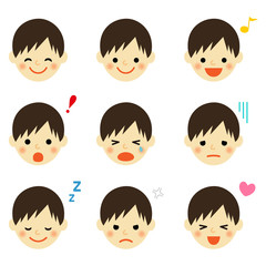 kids face icon