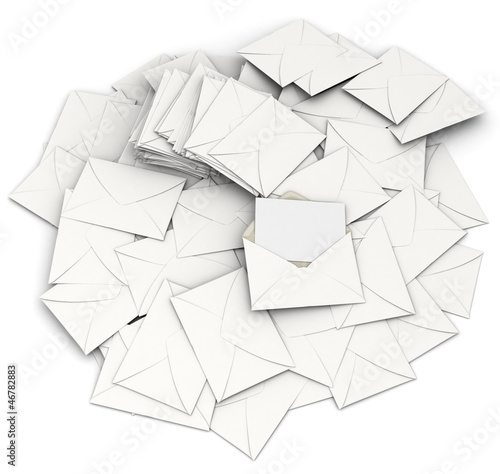 Scattered correspondence