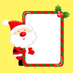Santa Claus mascot the event activity. Christmas Character Desig