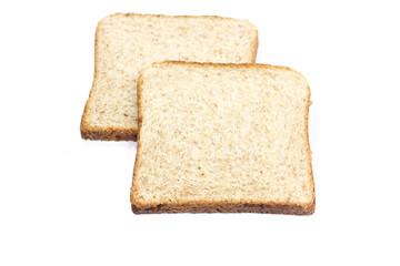 tranches de pain complet