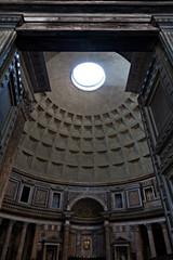 Roma, l'ingresso del Pantheon