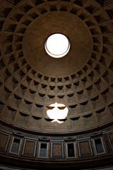 Roma, l'interno del Pantheon