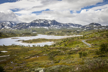 Paysage norvègien