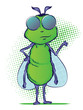 Insect Cartoon Character