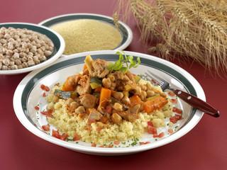 Couscous with lamb
