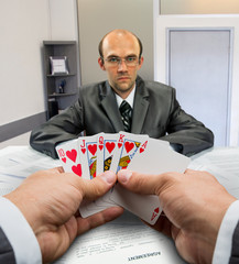 Business poker
