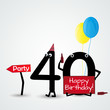 40 birthday card numbers