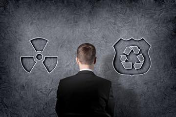 Environmental recycling symbol