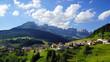 Dolomites landscape. Italy