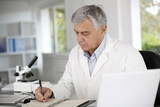 Doctor in biology writing report on agenda